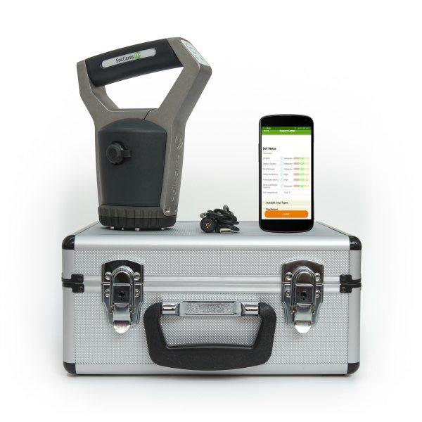 scanner NPK app screen